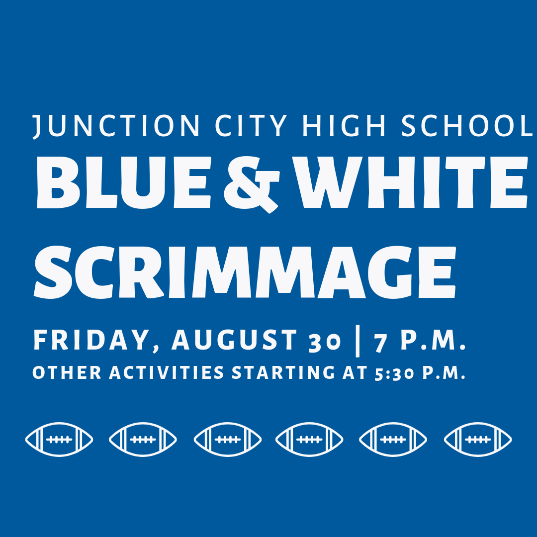 Blue And White Scrimmage