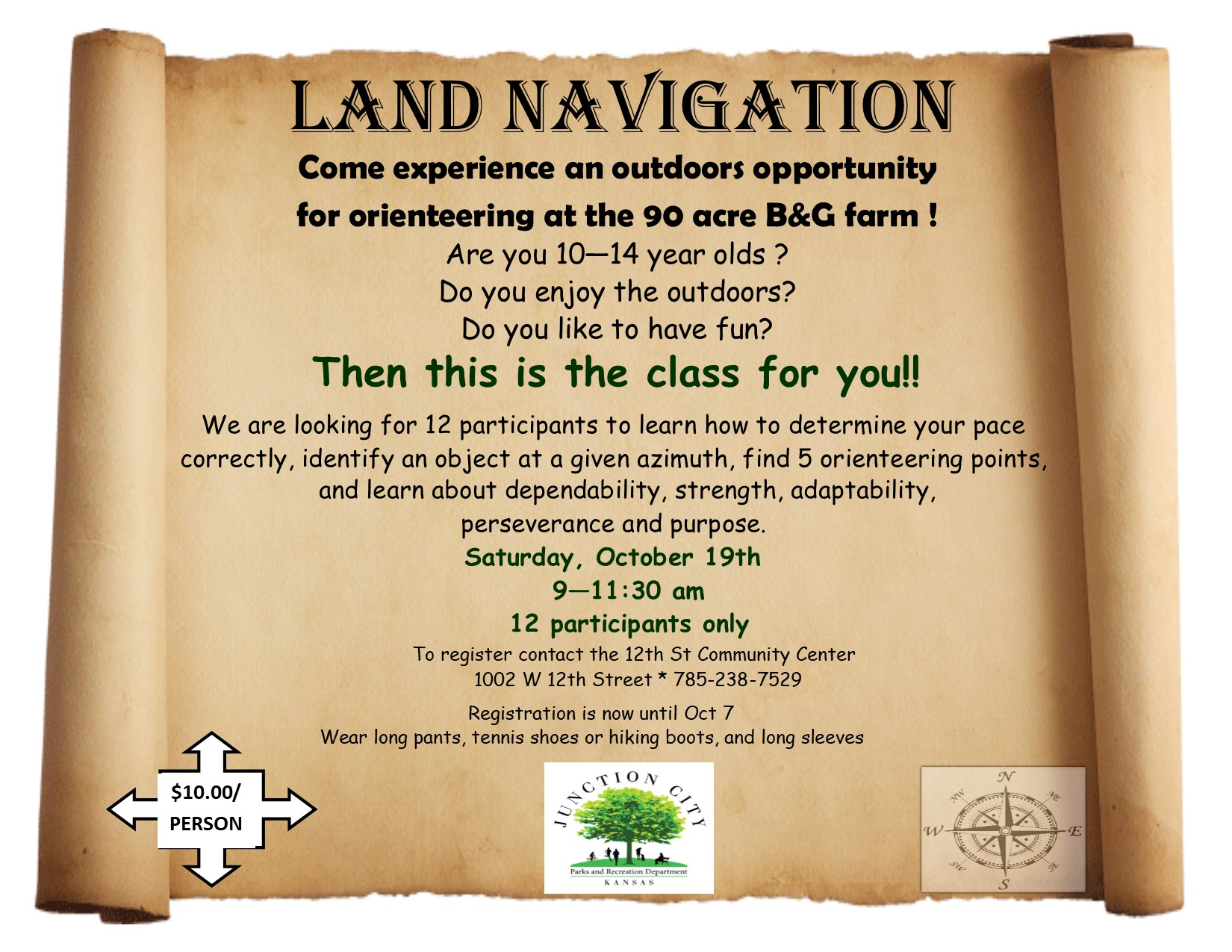 Land Navigation Flyer