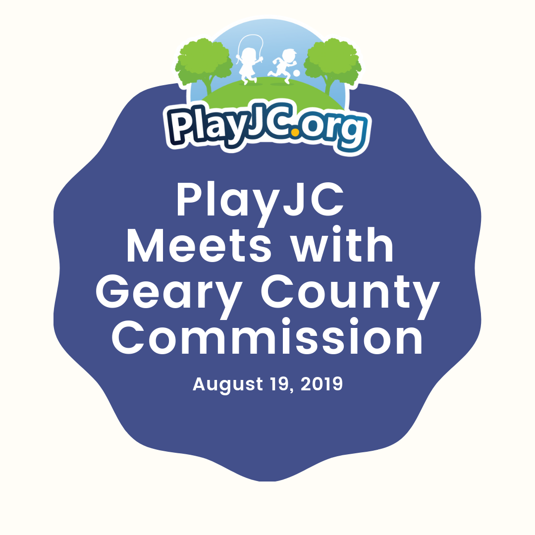 PlayJC Meets With Geary County Commission